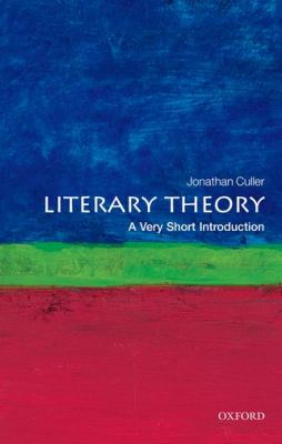 Cover Art for Literary Theory: A Very Short Introduction