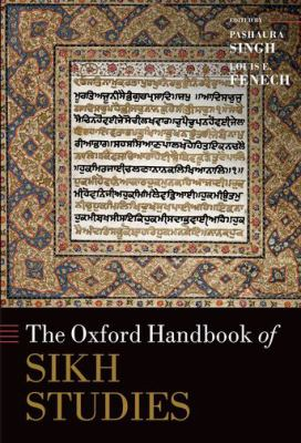 Cover of the Oxford Handbook of Sikh Studies