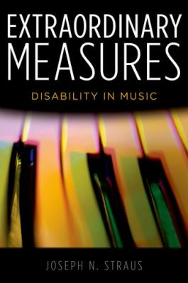 Extraordinary Measures book cover. A distorted photo of piano keys.