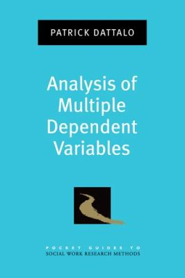 book cover: Analysis of Multiple Dependent Variables