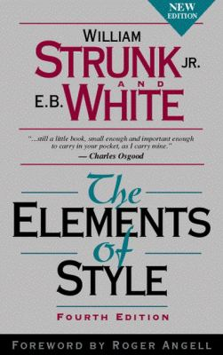 Cover art for The Elements of Style