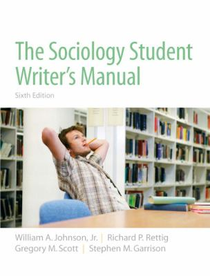 The Sociology Student Writers Manual