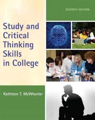 Book cover for Study and critical thinking skills in college.