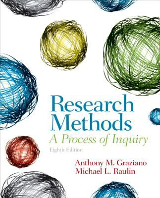 Research Methods : a process of inquiry