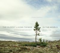 Book cover for The Oldest Living Things in the World by Rachel Sussman