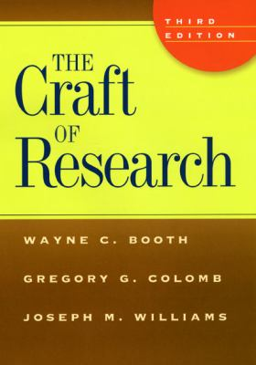Craft of research book cover