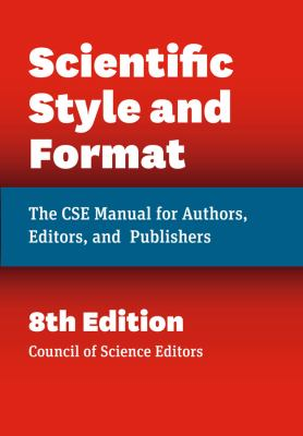 Front cover art of the book Scientific Style and Format by Council of Science Editors.