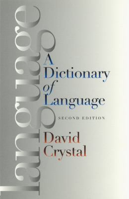 Cover Art for A Dictionary of Language