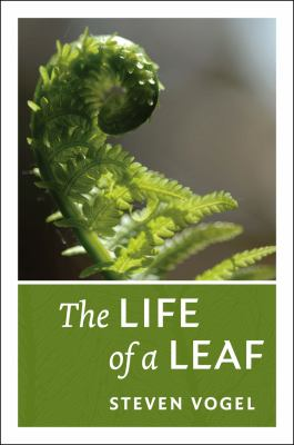 Book cover for The life of a leaf.