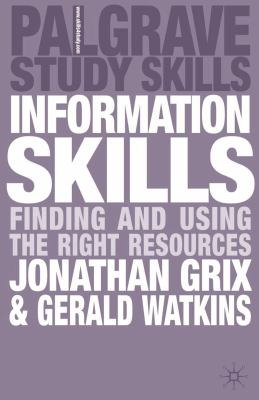 Book cover for Information skills.