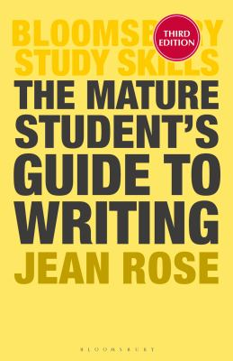 book cover of The Mature Student's Guide to Writing