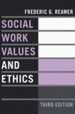 Book jacket for Social Work Values and Ethics