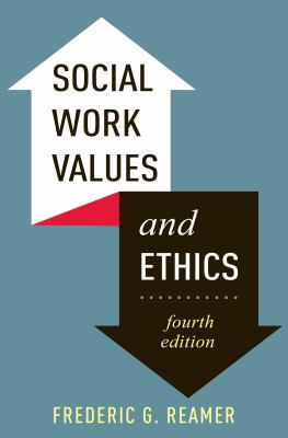 Book cover of Social Work Values and Ethics - click to open in a new indow