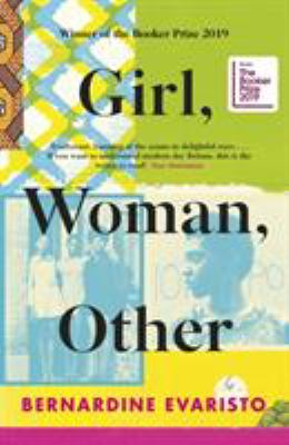 Book cover: Girl, Woman, Other by Bernardine Evaristo