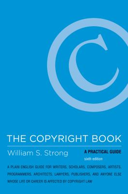Book cover for The copyright book.