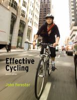 Book cover for Effective Cycling