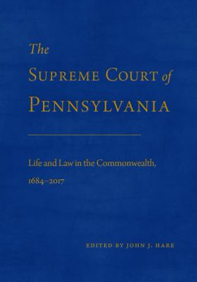 The Supreme Court of Pennsylvania book cover