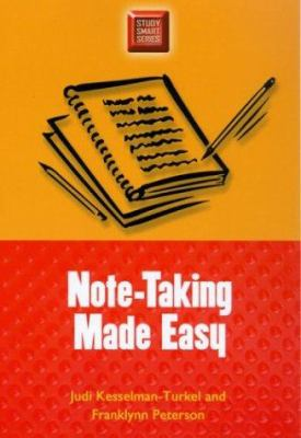 Cover Art for Note-taking made easy by Peters and Kesselman-Turkel