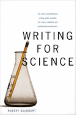 book cover writing for science