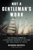 Not a Gentleman's work book cover