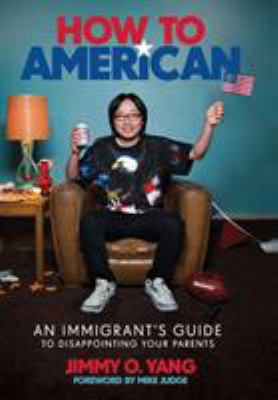 Cover Art features the author sitting in a comfy chair waving a tiny American flag.