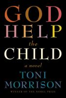 Book cover for God Help the Child by Toni Morrison