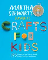 Book cover for Martha Stewart's Crafts for Kids