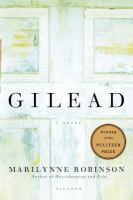 Book cover for Gilead by Marilynne Robinson