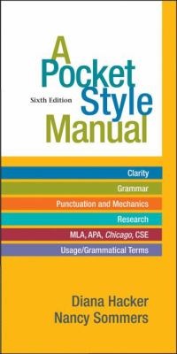 Cover art is the book title, authors, and it lists what you find the manual including help with different citation styles.