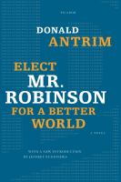 Book cover for Mr. Robinson for a Better World