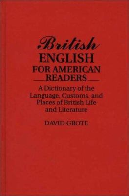 Cover art for British English for American Readers