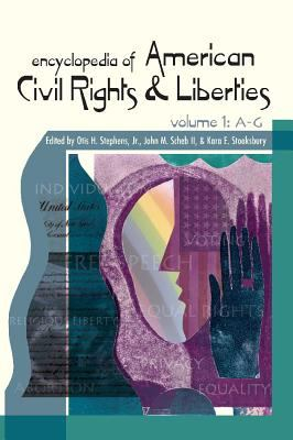 Encyclopedia of American Civil Rights and Liberties book cover