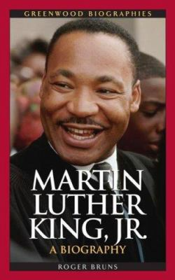 Martin Luther King, Jr by Roger A. Bruns book cover image