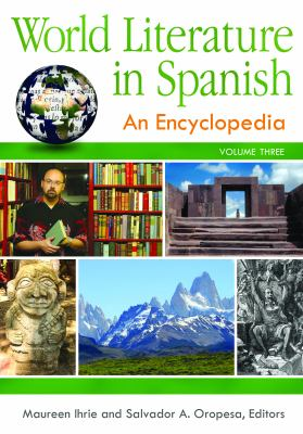 book cover for World Literature in Spanish