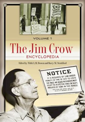 Book cover for The Jim Crow encyclopedia.