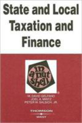 Link to State and Local Taxation and Finance in a Nutshell