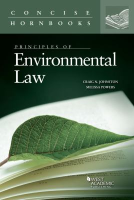 Link to Principles of Environmental Law (Concise Hornbook)