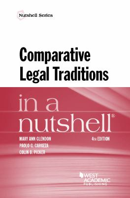 Link to Comparative Legal Traditions in a Nutshell
