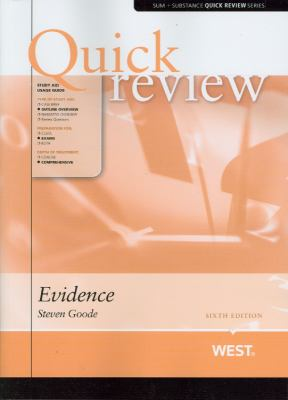 Link to Quick Review Evidence (Sum and Substance
