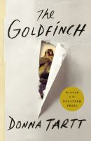 Book cover for The Goldfinch by Donna Tartt
