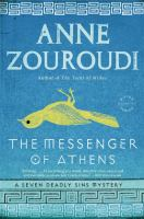 Book cover for The Messenger of Athens by Anne Zouroudi