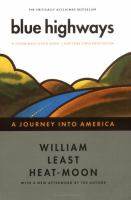 Book cover for Blue Highways by William Least Heat-Moon