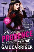 Book cover for Prudence by Gail Carriger