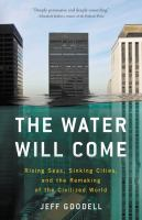 """""""The Water Will Come"""" Book Cover"""