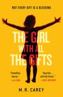 Book cover for The Girl With All the Gifts