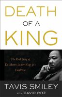 Death of A King book cover