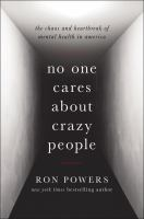 No One Cares About Crazy People book cover