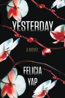Yesterday book cover