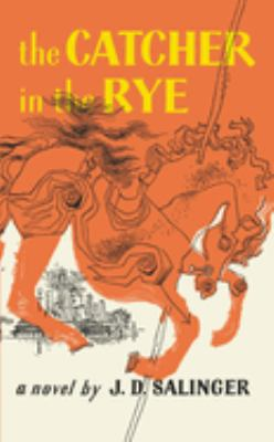Book cover for The catcher in the rye.