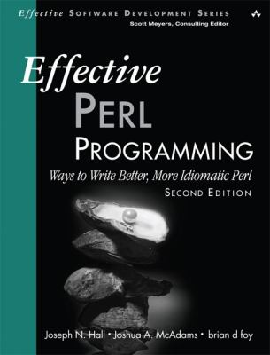 book cover: Effective Perl Programming